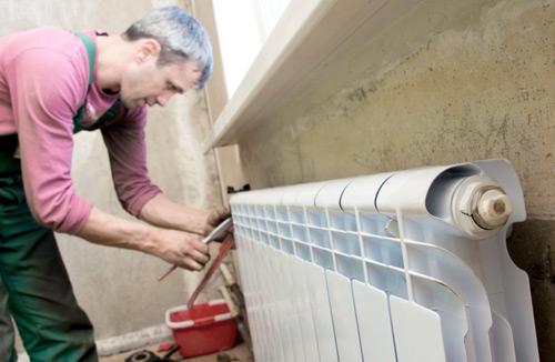 Перекрываем водоснабжение на радиаторе
