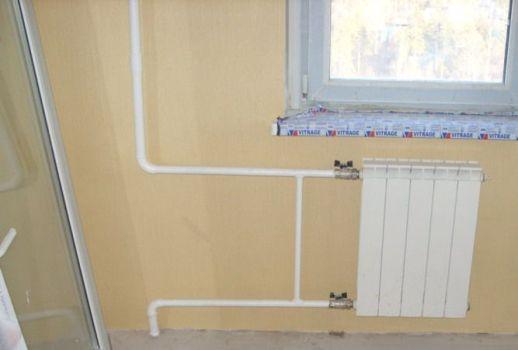 Оптимизация схемы подключения радиатора